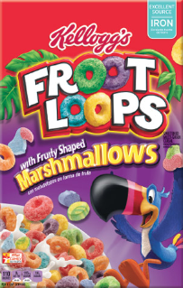 Kellogg's® Froot Loops® with Marshmallows Cereal 16.7 oz. Box uploaded by Marjan S.