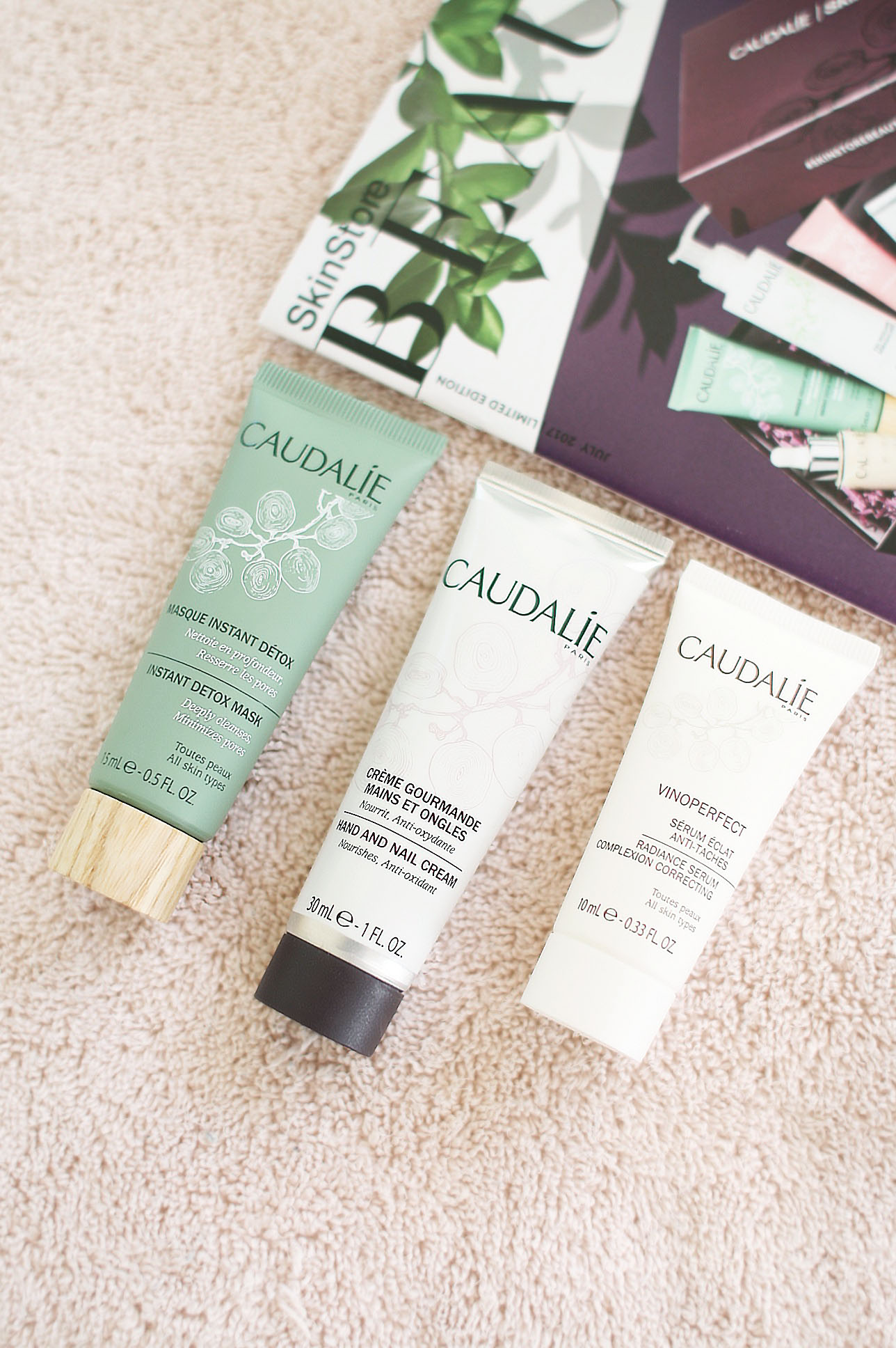 Caudalie Hand and Nail Cream Nourishes and Protects uploaded by Sarah S.