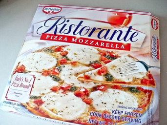Dr. Oetker Ristorante Pizza Mozzarella uploaded by Elif T.