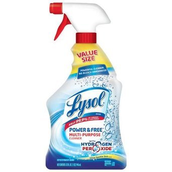 Lysol with Hydrogen Peroxide Multi-Purpose Cleaner uploaded by Tammy B.
