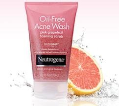 Neutrogena Oil-Free Pink Grapefruit Acne Wash Facial Cleanser uploaded by Angela F.