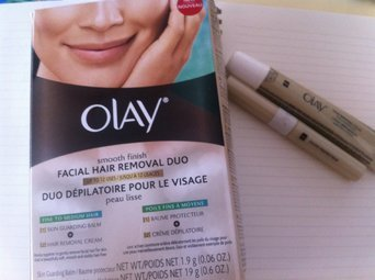 Olay Smooth Finish Facial Hair Removal Duo Kit uploaded by VE-1115240 INDIRA GAGO V.