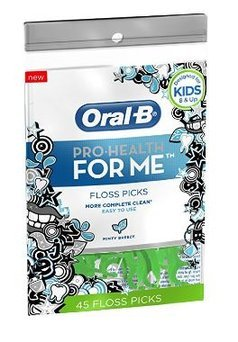 Oral-B Pro-Health For Me Minty Breeze Flavor Floss Picks 45 ct Pouch uploaded by Coleen A.