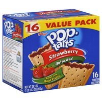 Kellogg's Pop-Tarts Strawberry Unfrosted Toaster Pastries - 16 CT uploaded by Lear26934 Karem del Carmen P.