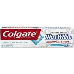 Colgate PRO Clinical Daily Whitening Toothpaste, Sparkling Mint, 4-Ounce Boxes (Pack of 4) uploaded by Allysa G.