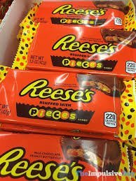 Photo of Reese's Pieces Peanut Butter Cup uploaded by Penny G.