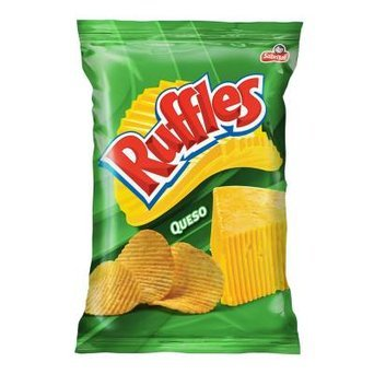 Ruffles® Queso Cheese Flavored Potato Chips uploaded by Karen C.