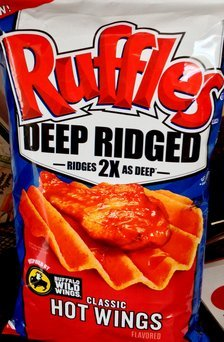 Ruffles® Deep Ridged Classic Hot Wings Potato Chips uploaded by Pereira L.