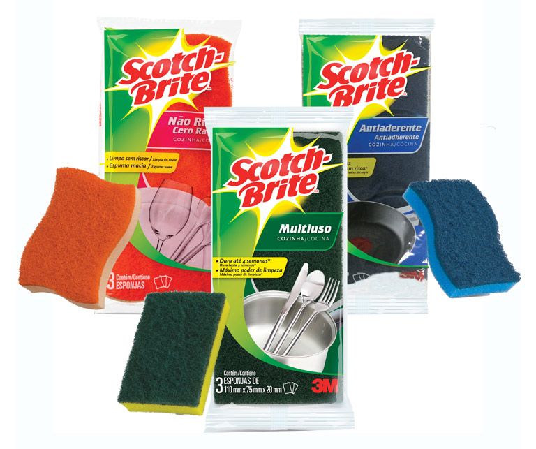 Scotch-Brite Cleaning Sponges SCOTCH-BRITE Nocolor uploaded by Marci M.
