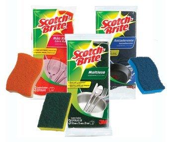 Scotch-Brite Cleaning Sponges SCOTCH-BRITE Nocolor uploaded by Marci M.