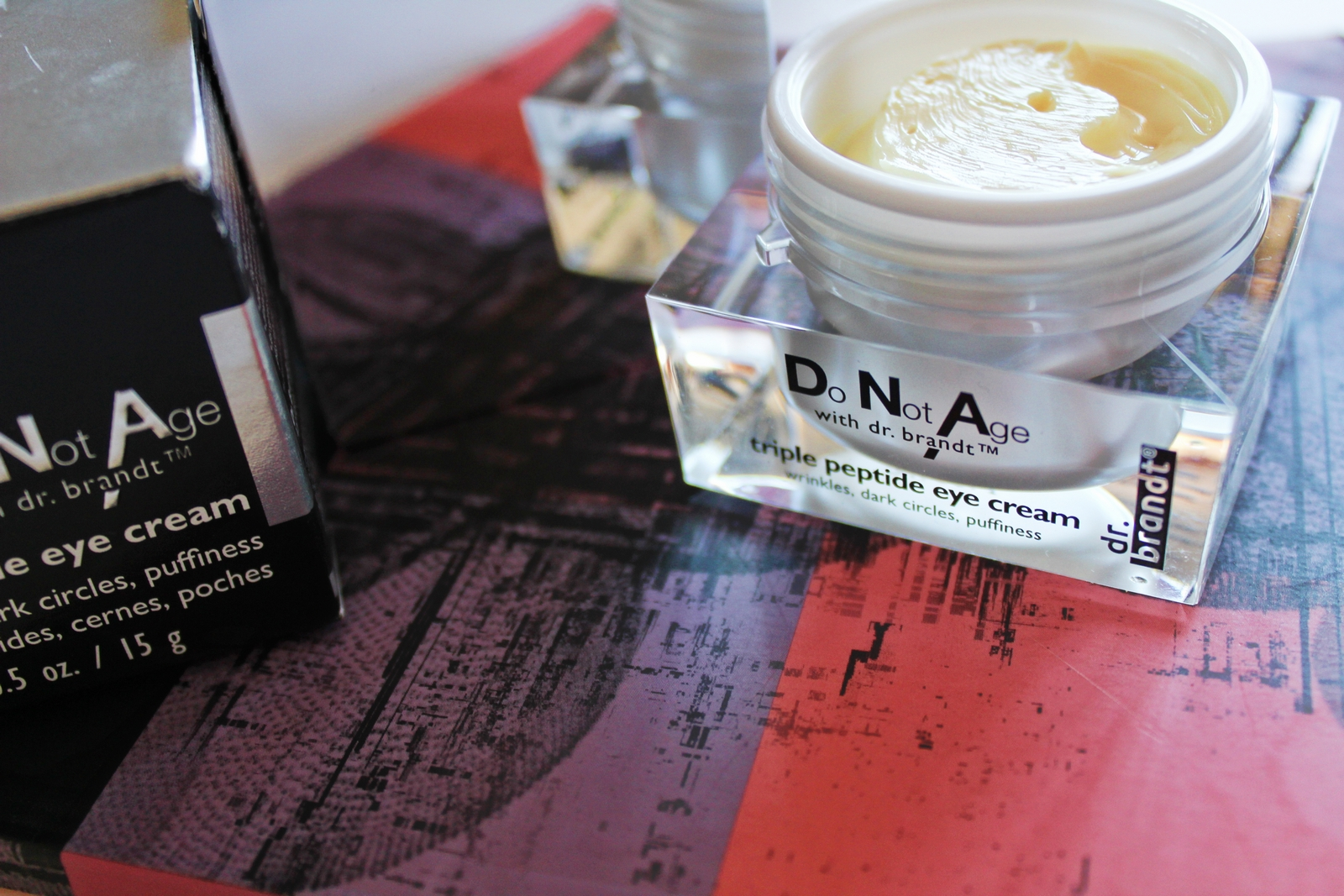 Dr. Brandt® Do Not Age with Drbrandt Triple Peptide Eye Cream uploaded by Paola A.