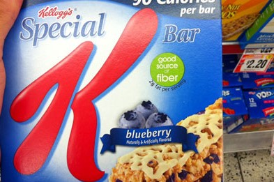 Special K® Kellogg's Calories Blueberry Cereal Bars uploaded by Jiennifer M.