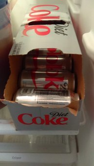 Diet Coke uploaded by Melissa W.
