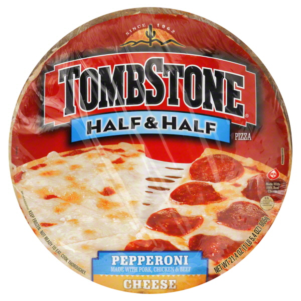 Photo of Tombstone Half & Half Pizza Cheese/Pepperoni uploaded by Melissa M.