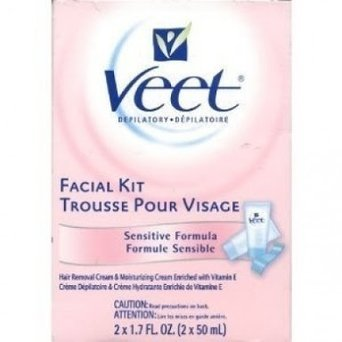 Veet Facial Kit Sensitive Formula 2 x 1.7 oz., 6-Pack uploaded by GRASIELLE S.
