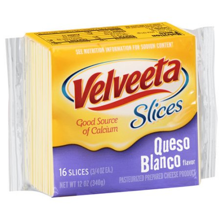 Velveeta Cheese Slices Queso Blanco - 16 CT uploaded by Jessely M.