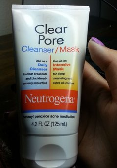 Photo of Neutrogena® Clear Pore Cleanser/Mask uploaded by Evig M.
