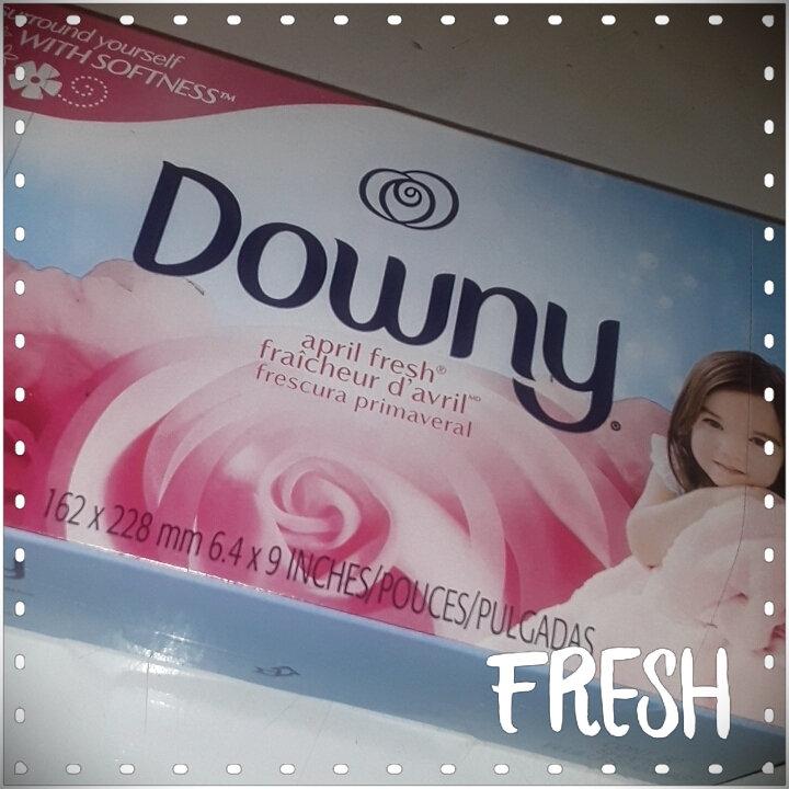 Downy Fabric Softener Sheets