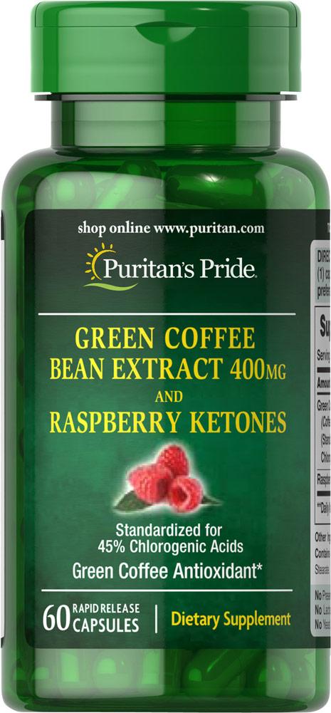 green coffee 400 mg