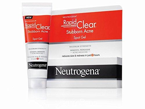 Neutrogena Rapid Clear Stubborn Acne Spot Gel Reviews 2020