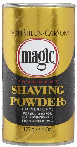 Softsheen Carson Magic Shave Shaving Powder Regular Strength