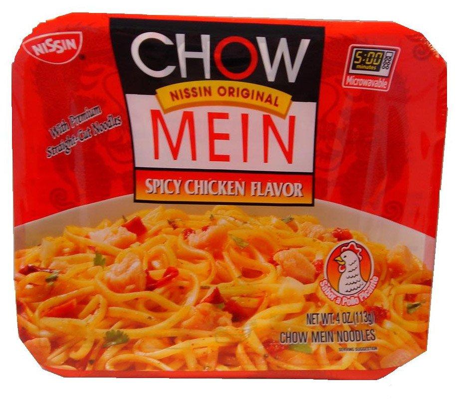 Nissin Chow Mein Premium Spicy Chicken Chow Mein Noodles Reviews 2020
