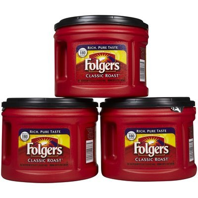 Folgers One Cup Coffee Maker : Folgers Classic Roast Ground Coffee Reviews Find the Best Coffee Influenster