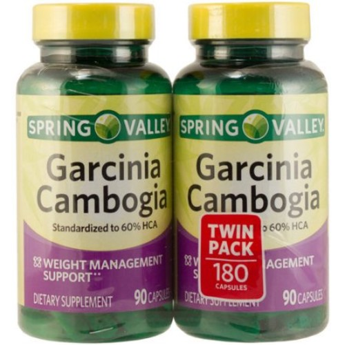 Spring Valley Garcinia Cambogia Vegetable Capsules 800 Mg 180 Ct