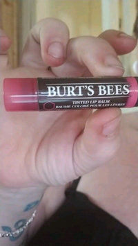 Video of Burt's Bees Tinted Lip Balm uploaded by Ashley C.