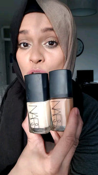 Video of NARS Sheer Glow Foundation uploaded by Shahnaz I.