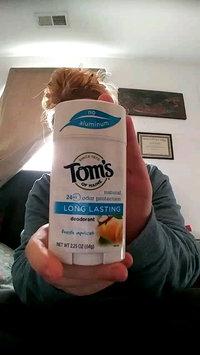 Video of Tom's OF MAINE ANTIPERSPIRANT & DEODORANT Unscented Long Lasting Deodorant uploaded by Katelyn G.