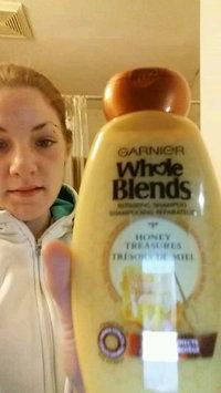 Video of Garnier Whole Blends  Honey Treasures Repairing Shampoo uploaded by brandy r.