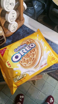 Video of Nabisco Oreo Golden Sandwich Cookies uploaded by Leah P.
