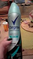 Degree Women Ultra Clear Black + White Antiperspirant Pure Clean Dry Spray uploaded by Edyline E.