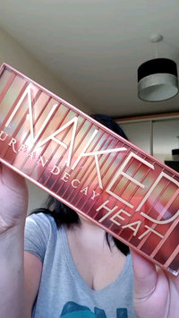 Video of Urban Decay Naked Heat Eyeshadow Palette uploaded by Leanne F.