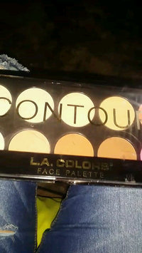 Video of L.A. COLORS I Heart Makeup Contour Palette uploaded by stephania p.