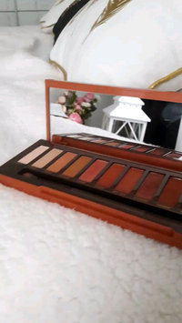 Video of Urban Decay Naked Heat Eyeshadow Palette uploaded by Tatyana P.
