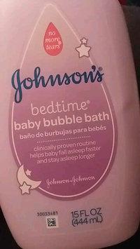 Video of Johnson's® Bedtime Baby Bath uploaded by Megan C.