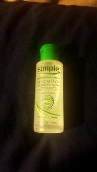 Video of Simple® Micellar Water Cleanser uploaded by Nashia R.