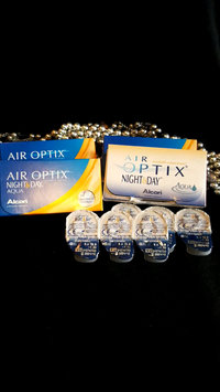 Video of Air Optix Night & Day Aqua Contact Lenses 1 Box uploaded by Kim B.