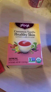 Video of Yogi Tea Cinnamon Vanilla Healthy Skin uploaded by Andrea V.