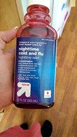 up & up Cold & Flu Relief Multi-Symptom Night Cherry Liquid - 12 oz uploaded by Rachael E.