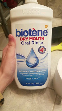 Video of Biotene Dry Mouth Oral Rinse uploaded by Faith S.
