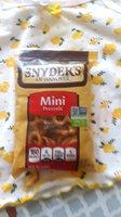 Snyder's-Of-Hanover Mini Pretzels uploaded by Lizeth D.
