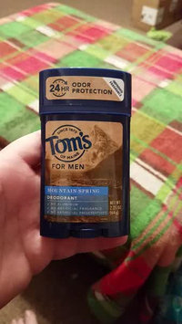 Video of Tom's OF MAINE Mountain Spring Men's Long Lasting Wide Stick Deodorant uploaded by Brandon M.