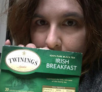 TWININGS® OF London Irish Breakfast Tea Bags uploaded by Kara D.