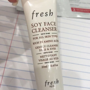 Video of fresh Soy Face Cleanser uploaded by Ruru A.