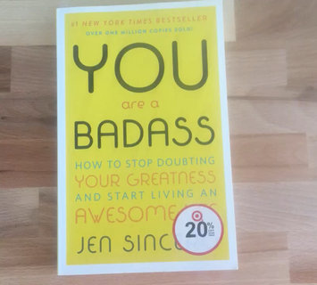 Video of You Are a Badass: How to Stop Doubting Your Greatness and Start Living an Awesome Life uploaded by savannah j.