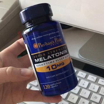 Video of Puritan's Pride 2 Units of Melatonin 10 mg-120-Capsules uploaded by Kara D.