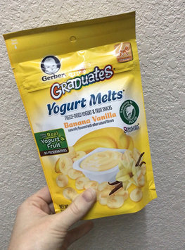Video of Gerber® Graduates® Yogurt Melts® | Banana Vanilla uploaded by Suzanne M.